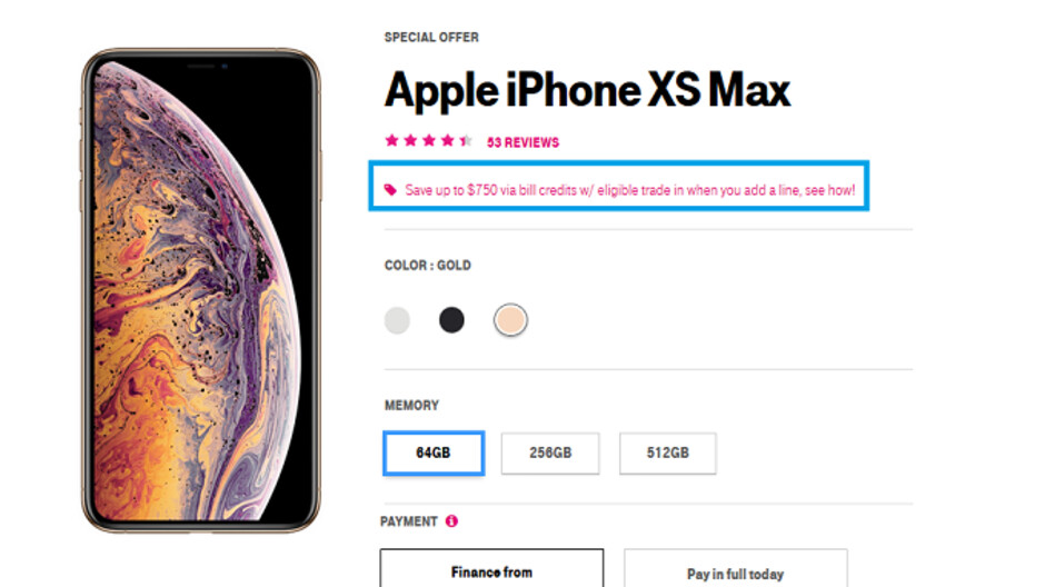 T-Mobile will give you a free iPhone XR, OnePlus 6T or Galaxy S9 under certain conditions