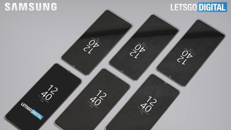 Samsung patents even more notches, each smaller than the other