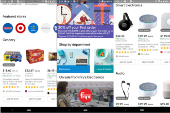 Google Express offers first time customers 20% off on orders up to $100