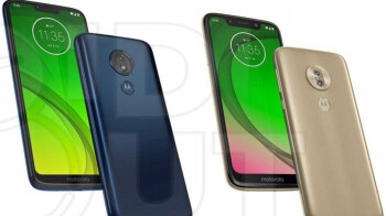 Leaked Moto G7 family portraits reveal three notch styles for four variants