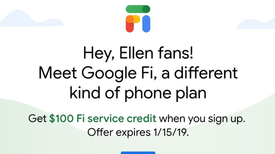 New Google Fi users get free $100 credit with no strings, existing subscribers eligible for smaller gift