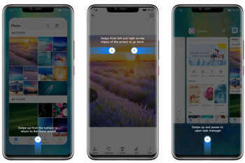 Apple takes the cake in navigation gestures, followed by Huawei's side swipes (poll results)