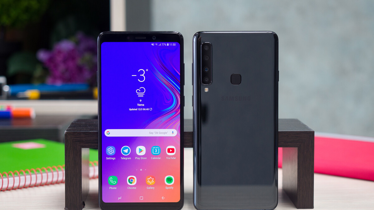 The Samsung Galaxy A10 could feature an in-display fingerprint scanner