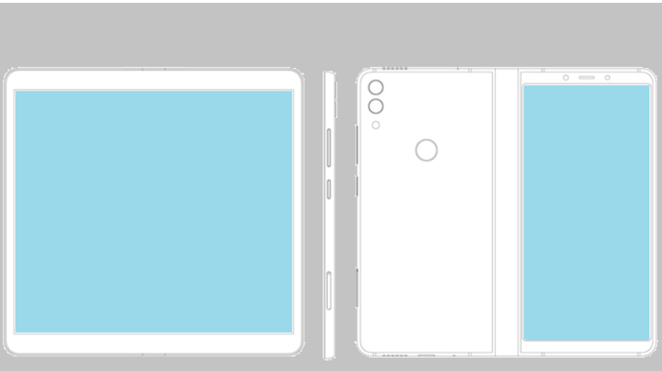 ZTE files patent application for folding display