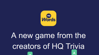 New HQ Words game starts streaming daily; solve word puzzles to win real cash
