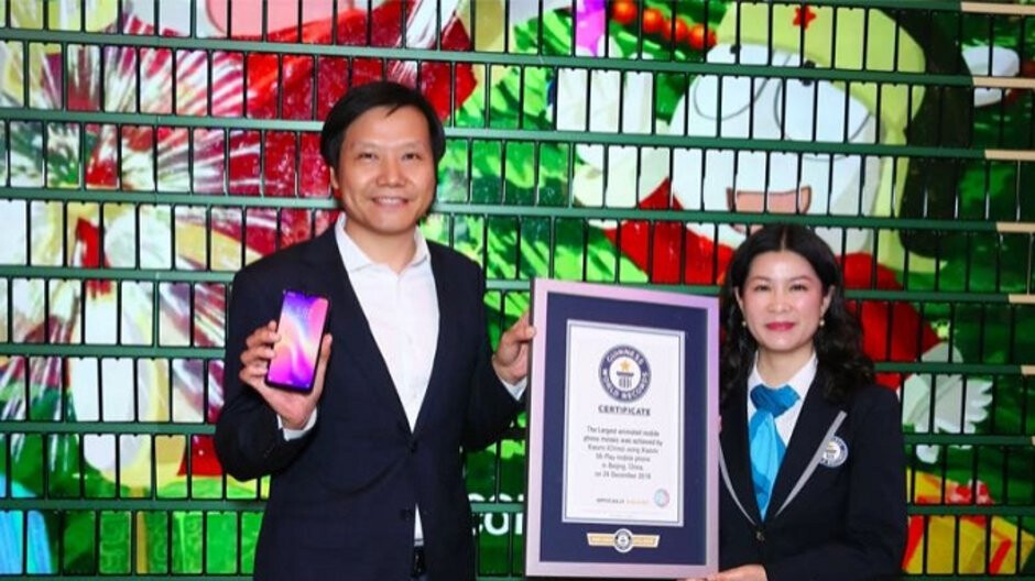 Xiaomi makes the Guinness Book of World Records for the largest dynamic smartphone display