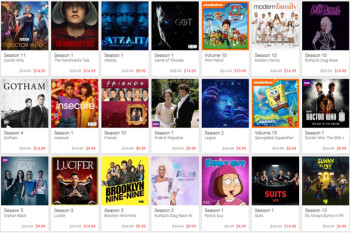 Google Play has holiday deals on movies, television shows and books until January 2nd