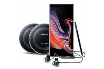Amazon offers Samsung Galaxy Note 9 bundle with 2 wireless charger pads, AKG200 earbuds