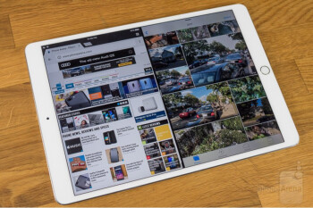 Some 2017 Apple iPad Pro models have bright white light above the home button, marring the display