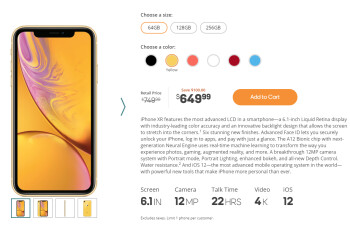 Boost Mobile's Black Friday deal on iPhone XR is back until the end of 2018