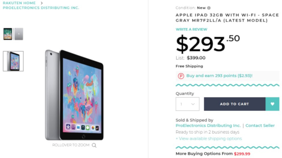 Deal: Save nearly 30% on Apple's 2018 9.7-inch iPad