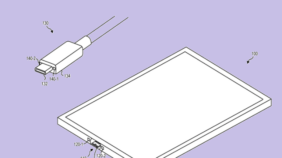 Microsoft files patent application for a magnetic USB-C system to be used on Surface tablets