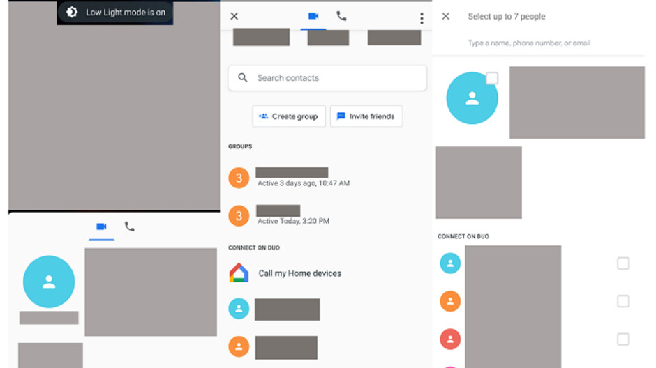 Google Duo reportedly will add group calling (up to seven at one time) and low-light mode