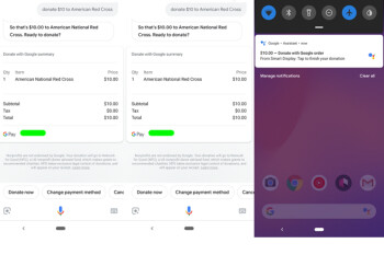 You can now ask Google Assistant to make a charitable donation for you