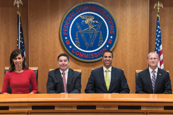 FCC Chairman Pai celebrates the agency's repeal of net neutrality