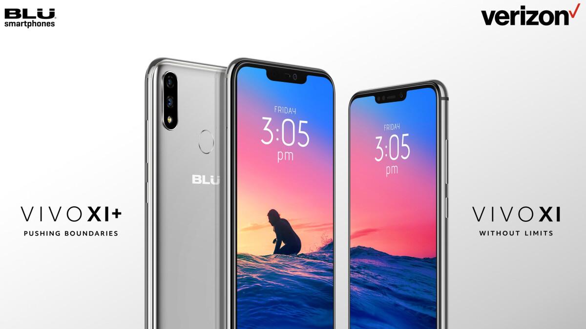 BLU Vivo XI and BLU Vivo XI+ are the brand's first Verizon-certified phones