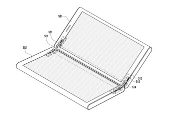 Samsung patent application reveals a phone made up of two separate screens that attach and detach