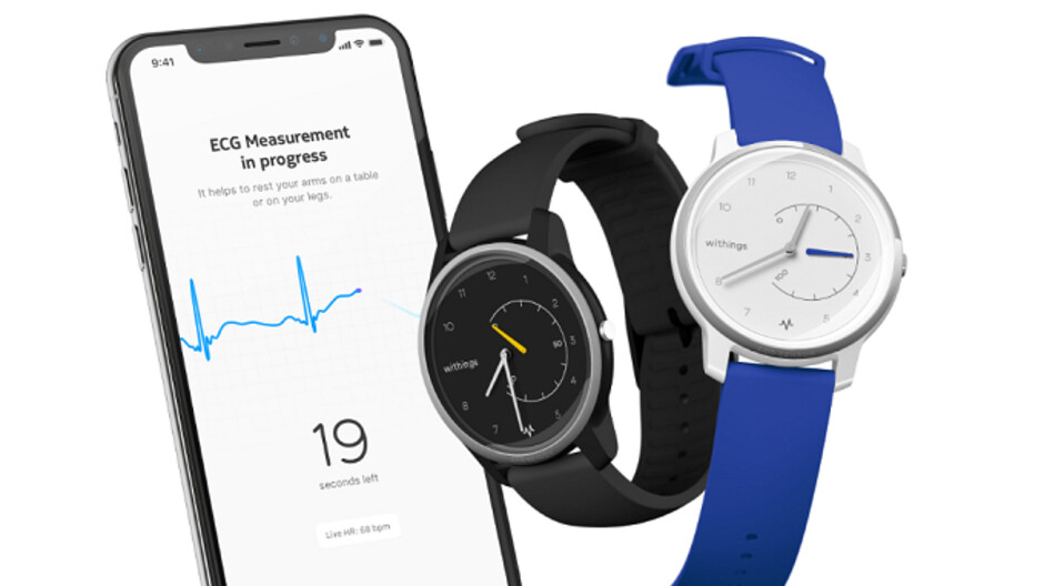 The Withings Move ECG smartwatch offers ECG on demand for a lot less than the Apple Watch