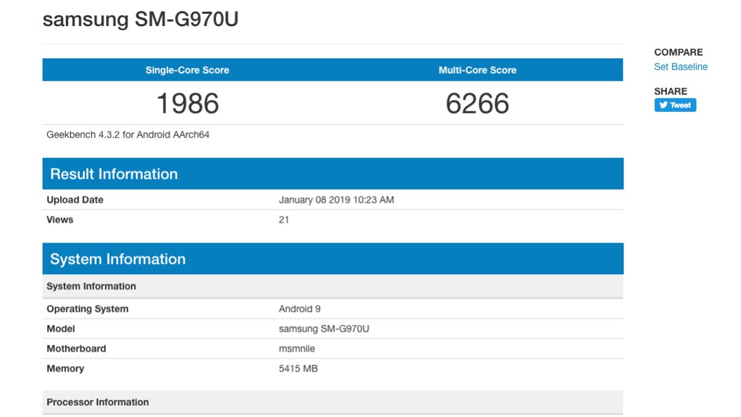 Samsung Galaxy S10 Lite benchmark hints at state-of-the-art