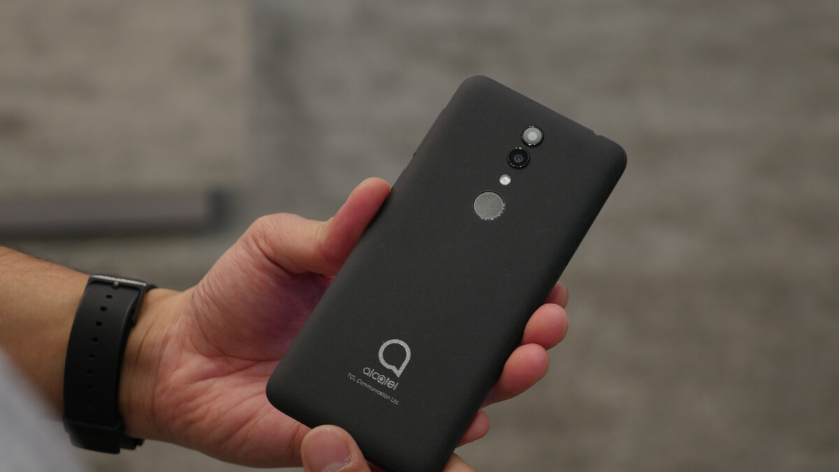 Alcatel 1X isn't your ordinary cheap phone [hands-on] | PhoneArena