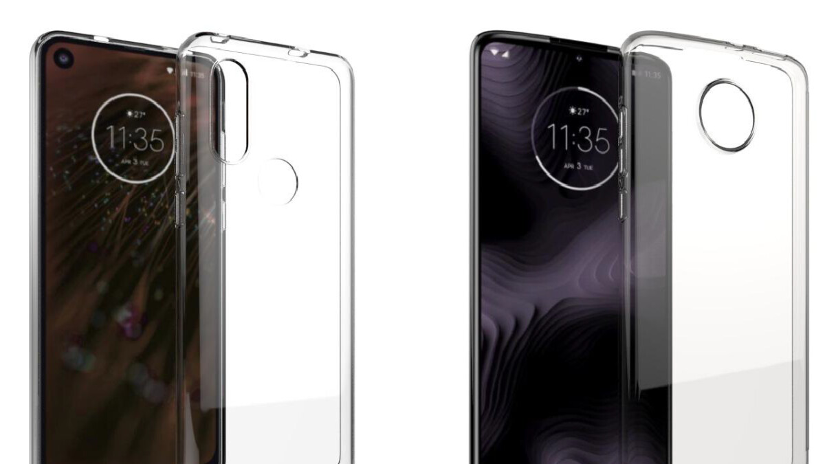 Motorola P40 & Moto Z4 Play case renders match previously-leaked designs