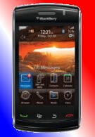 BlackBerry Storm 3 with its