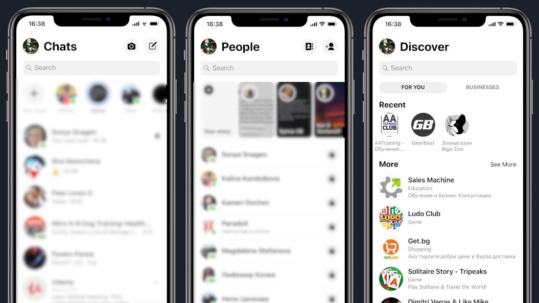 Do you like the new Facebook Messenger design?