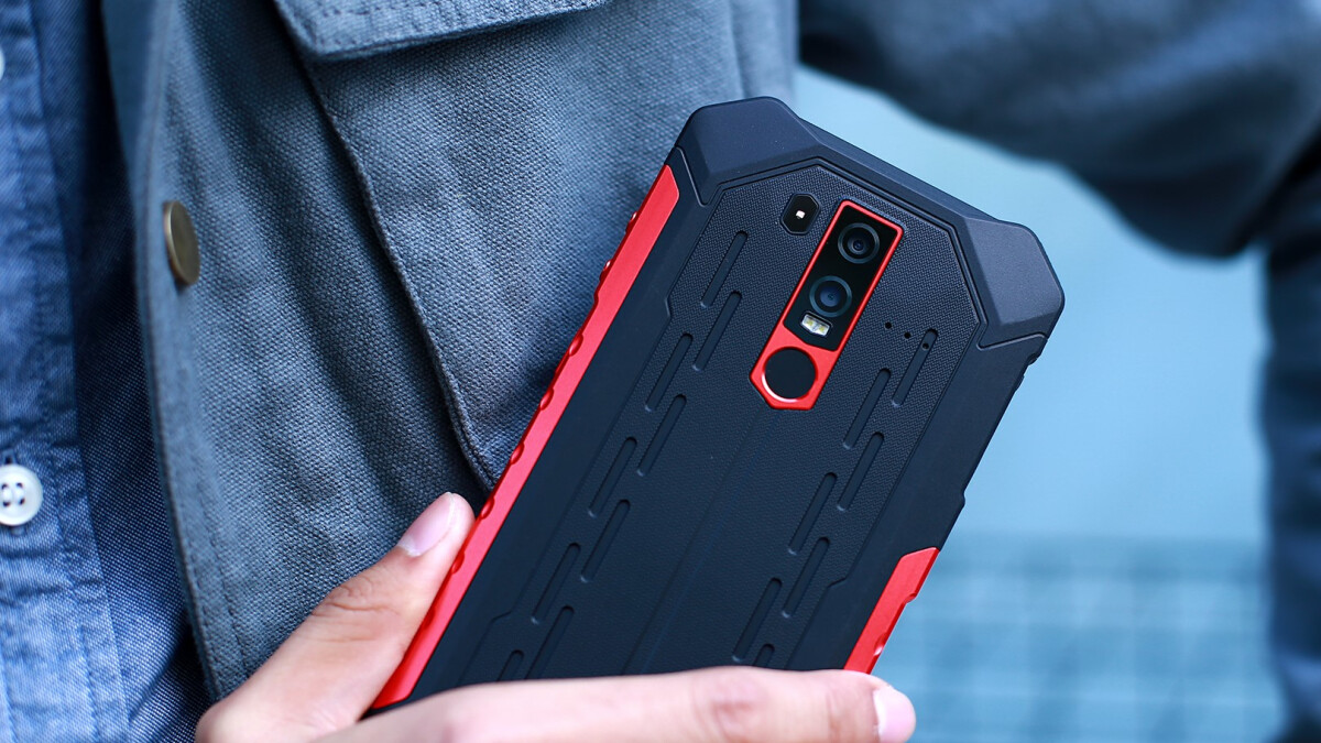 The Ulefone Armor 6 is the phone that will go through anything alongside you