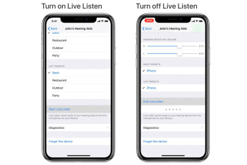Live Listen on iOS 12 can be abused to pair iPhone and AirPods for spying purposes