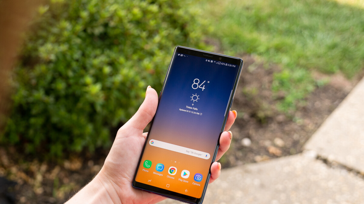 Samsung Galaxy Note 9 Android Pie update may have been delayed until