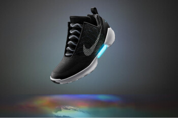 Nike teases self-tying sneaker that uses your smartphone to lace up