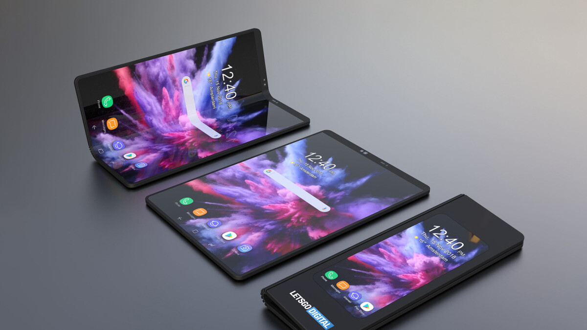 The future of the smartphone is foldable, Samsung says