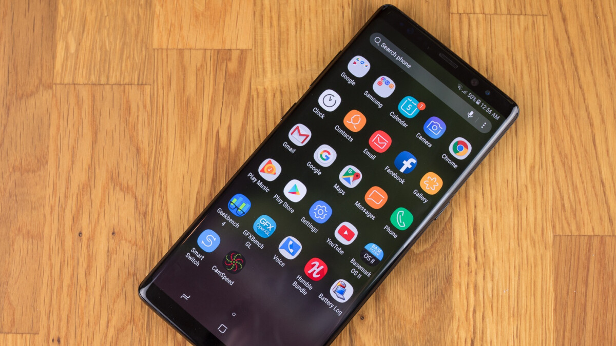 Samsung Galaxy Note 8 kicks off Android Pie beta program of its own