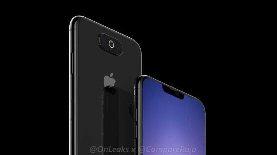 New iPhone XI prototype renders show horizontal camera, smaller notch