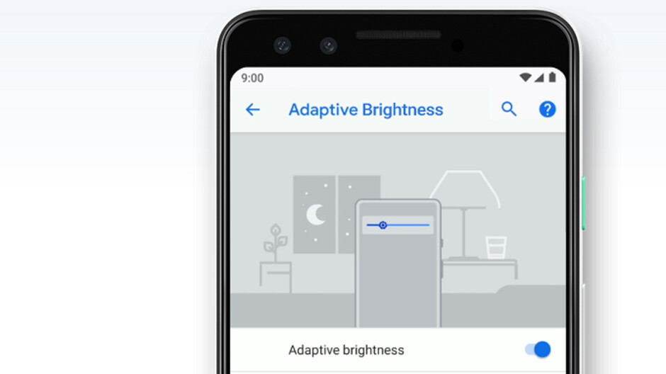Android 9 Pie users can now reset Adaptive Brightness without losing their battery data