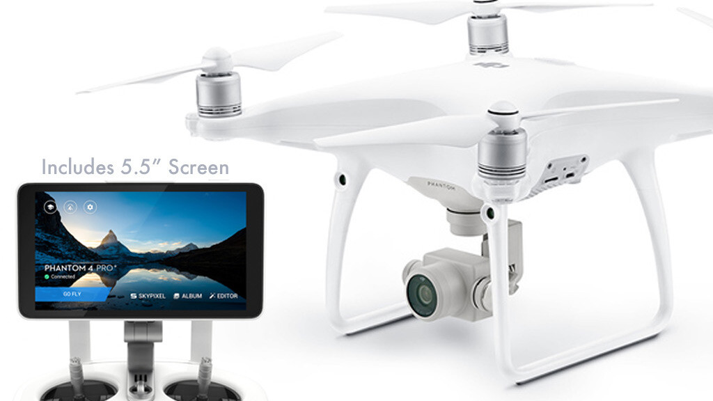 Save $350 on the high-end DJI Phantom 4 Advanced+ drone, deal ends today!