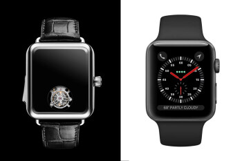 This ridiculous $350,000 Apple Watch knockoff doesn't even show the time