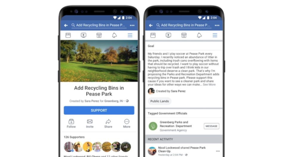 Facebook launches News Feed petition feature to pressure corrupt politicians