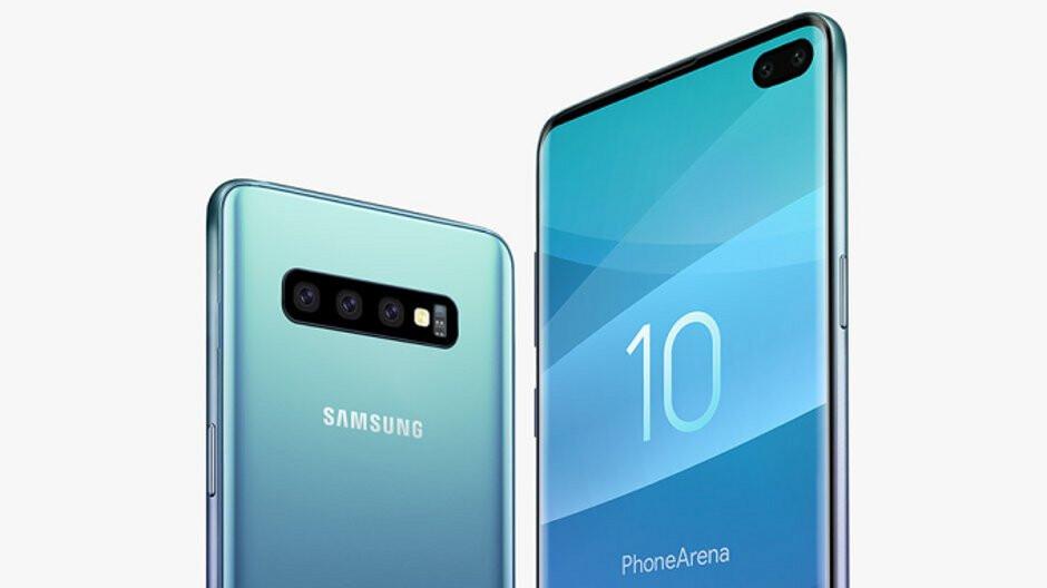 Samsung Galaxy S10+ says