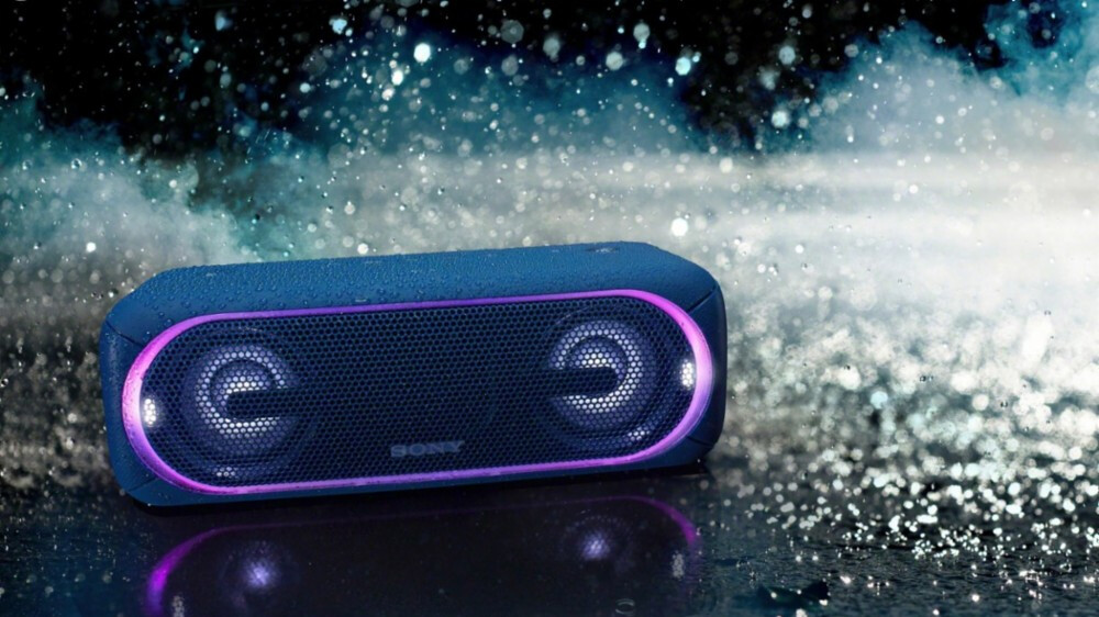 Sony's flashy, colorful, and powerful XB40 Bluetooth speaker is on sale at a $110 discount