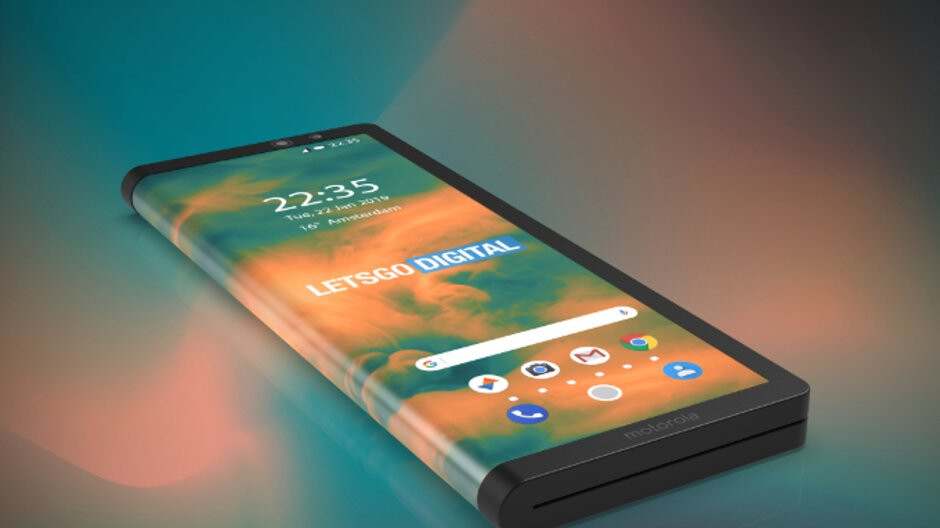 Motorola really jumping into the foldable phone game