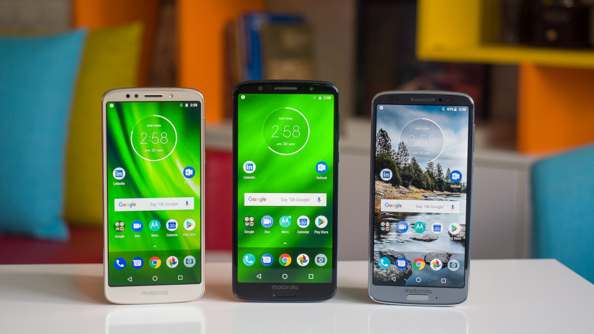Motorola gearing up for Moto G6 and Moto G6 Play Android 9 Pie roll-out