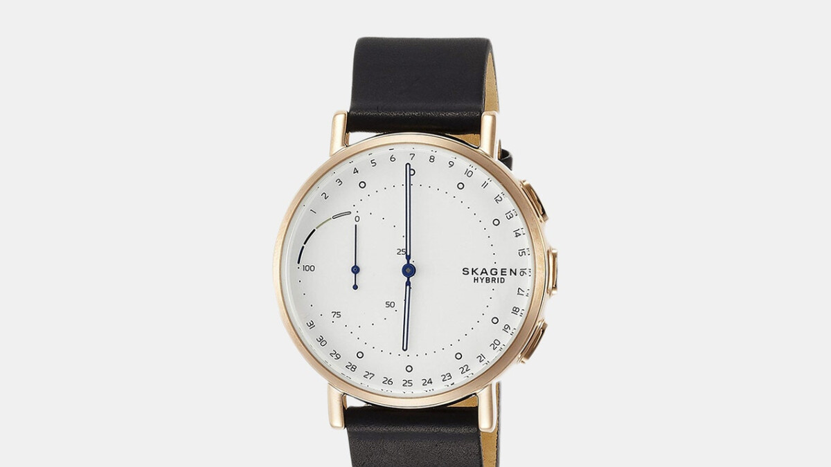 Killer deal brings Skagen hybrid smartwatch price down to $48 (brand-new)