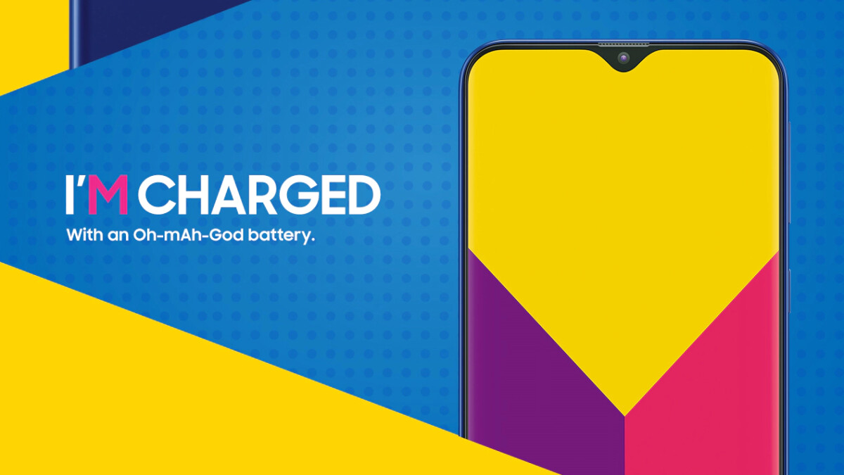Samsung gives in to the notch with the new M-series, Galaxy M20 touts a 5000 mAh battery