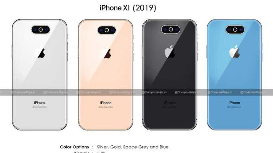 The iPhone XI (2019) may pick the cyclops camera design, whew, and a new color option