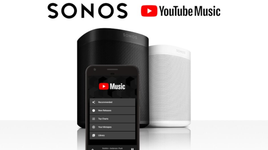 YouTube Music is coming to Sonos speakers, but you'll need a subscription