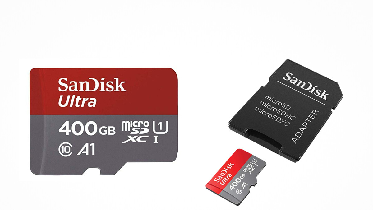 This 400GB microSD card is just $82 on Amazon for a limited time!