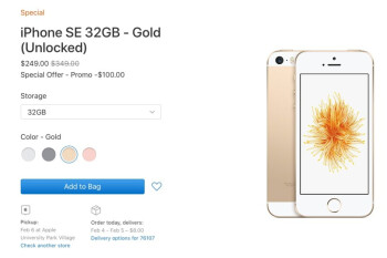 Apple's unlocked iPhone SE is back in stock for the third time this month
