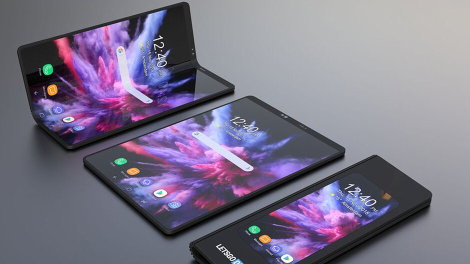 1818e998295 Huawei s foldable phone may beat the Samsung Galaxy Fold right out of the  gate