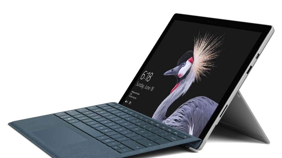 Microsoft's Surface Pro (5th Gen) is an absolute bargain at $635 in a keyboard bundle